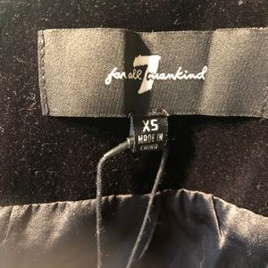 7 For All Mankind Jackets & Coats - 7 For All Mankind | Baroque Velvet Blazer NWT